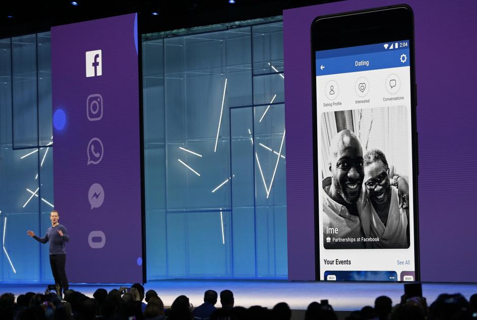 Facebook CEO Mark Zuckerberg speaks at Facebook Inc's annual F8 developers conference in San Jose